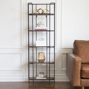 Wilhelmina Etagere Bookcase by Winston Porter Amazing