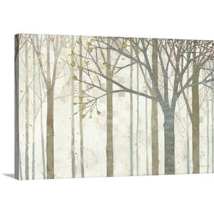 'In Springtime' Painting Print on Wrapped Canvas by Red Barrel Studio