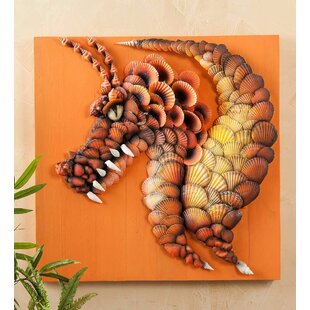 Seashell Dragon Wall Décor