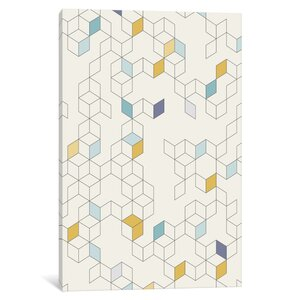 'Keziah Day' Rectangle Graphic Art on Wrapped Canvas by East Urban Home