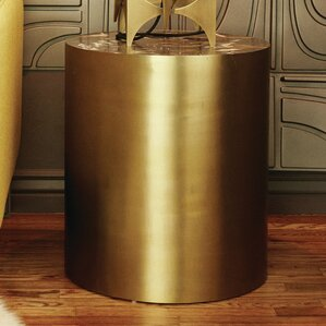 Conan Large Drum End Table by M3LD