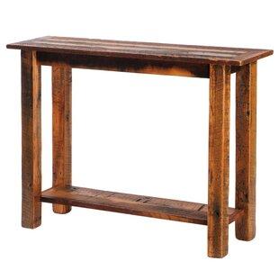 Reclaimed Barnwood Console Table ByFireside Lodge