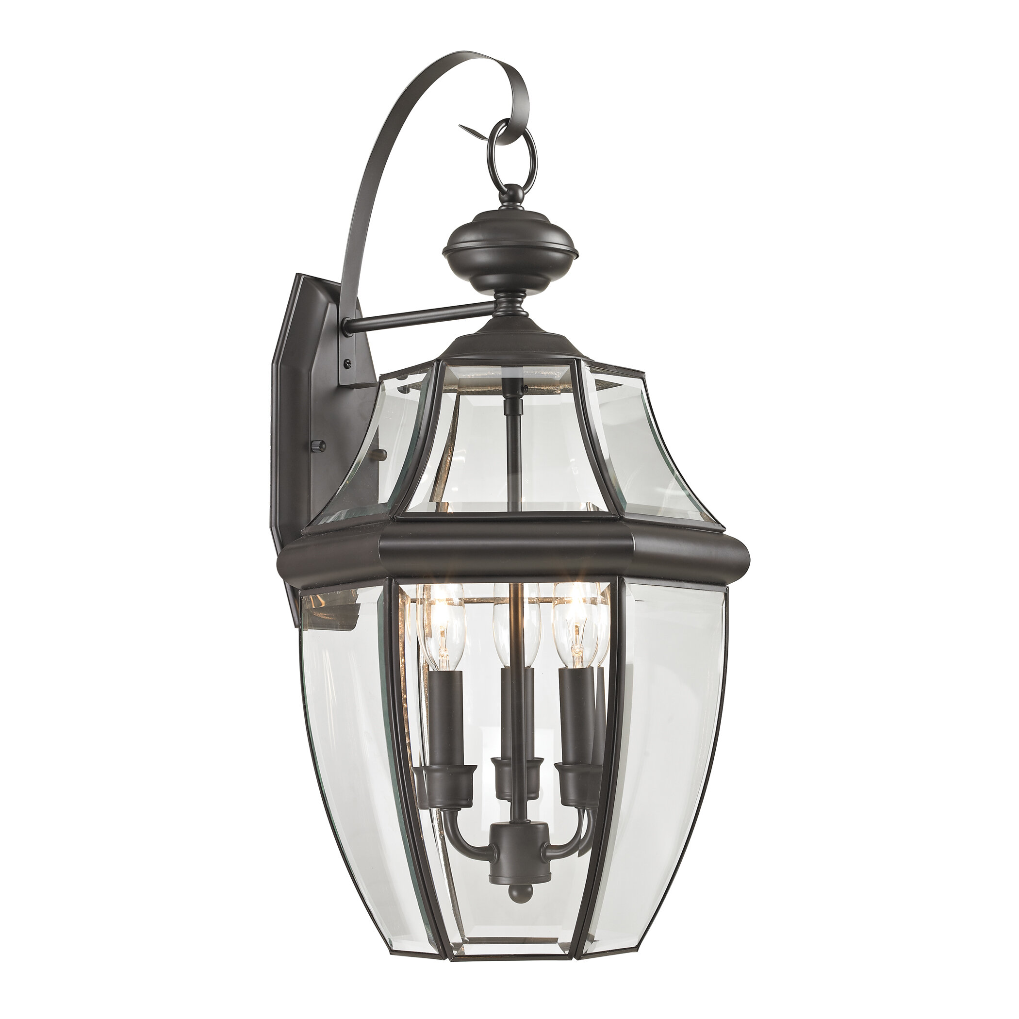 Ashford 2 Light Outdoor Wall Lantern. By Cornerstone Lighting
