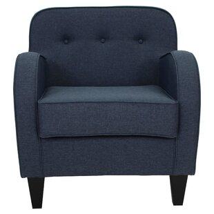 Navy Tufted Chair   Wayfair