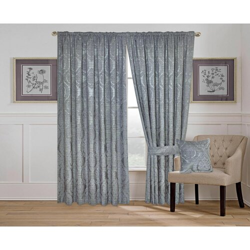 Claymore Pencil Pleat Room Darkening Thermal Curtains