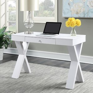 Distressed Wood Desk Wayfair - Desks incorporate recessed computer technology