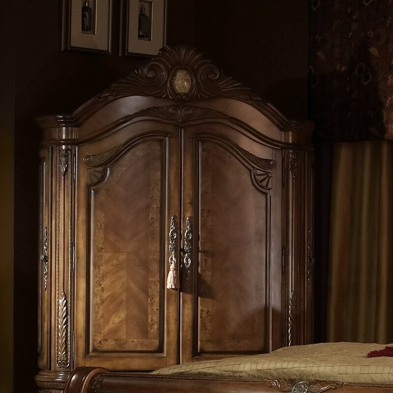Michael Amini Cortina Panel Configurable Bedroom Set