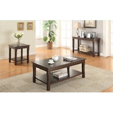 Lakeme 3 Piece Coffee Table Set by A&J Homes Studio