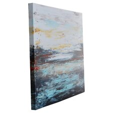 Abstract Cold' by Jolina Anthony Framed on Canvas