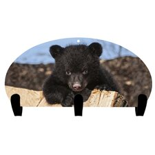 Bear Cub 3 Hook Coat Rack by Next Innovations