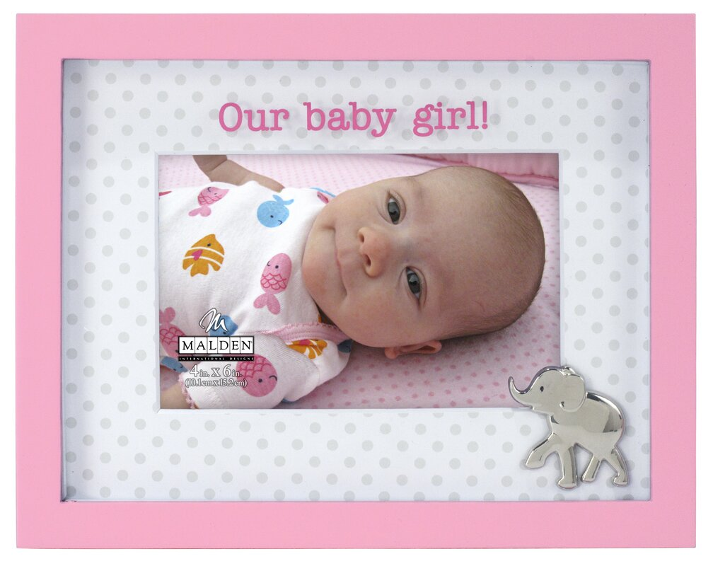 Malden Our Baby Girl Elephant Picture Frame Amp Reviews
