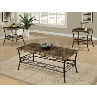 Shop for Medford 3 Piece Coffee Table Set by A&J Homes Studio