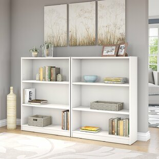 Read Reviews Hilbert Standard Bookcase (Set of 2) by Red Barrel Studio