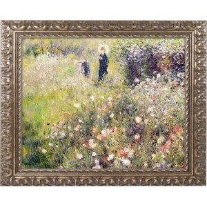 Summer Landscape by Pierre Renoir Framed Painting Print by Trademark Fine Art