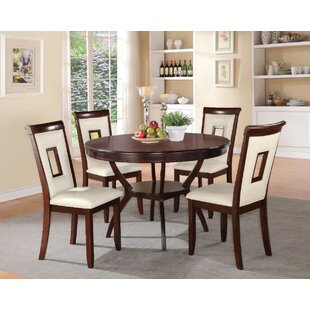 Gartman 5 Piece Counter Height Solid Wood Dining Set By Red Barrel Studio
