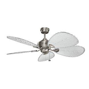 Hampton bay ceiling fan blades wayfair 22 wood ceiling fan blade set set of 5 mozeypictures Choice Image