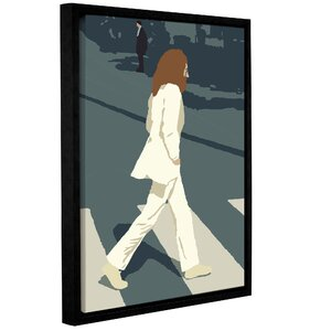 'John' Framed Graphic Art Print On Canvas by Zipcode Design