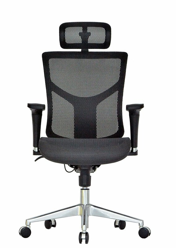 Ergonomic Mesh Executive Chair By Symple Stuff Best