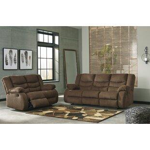 Beautiful Drennan Reclining Configurable Living Room Set