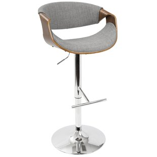 Online Reviews Lake Mary Adjustable Height  Swivel Bar Stool by Wade Logan