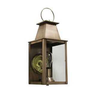 Best Reviews Chenard Outdoor Wall Lantern By Longshore Tides