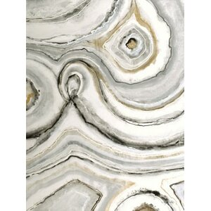 'Shades of Grey I' by Liz Jardine Painting Print on Wrapped Canvas by Third and Wall Art Group