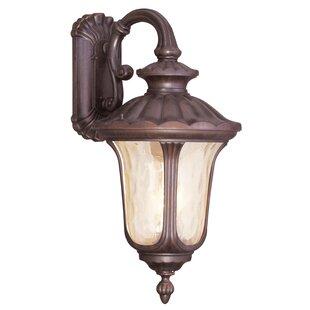 Gurnee Aluminum 3-Light Outdoor Wall Lantern By Three Posts Outdoor Lighting