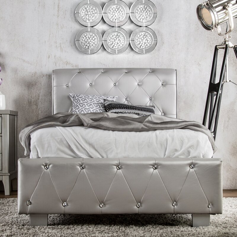 defaultname - Upholstered Sleigh Bed