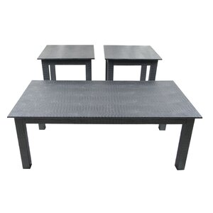 3 Piece Coffee Table Set Upscale Designs EMA