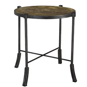 Henry Swerve Round End Table by French Heritage