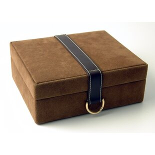 Looking for Faux Suede and Leather Jewelry Box ByBudd Leather