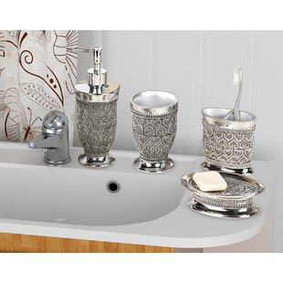 Mercado 4 Piece Bathroom Accessory Set