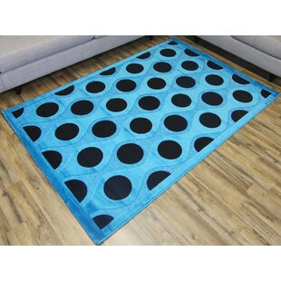 Read Reviews Shonil Blue/Black Area Rug By Beyan Signature