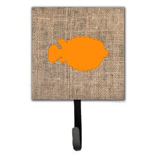 Blowfish Leash Holder and Wall Hook by Caroline's Treasures
