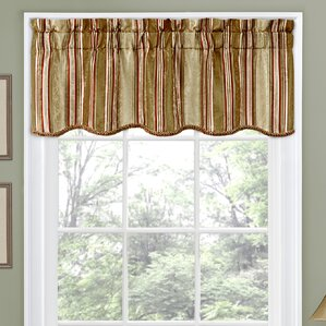window valances caf kitchen curtains youll love wayfair. beautiful ideas. Home Design Ideas
