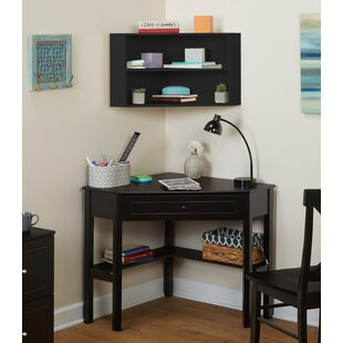 Inexpensive Montalto Corner Desk with Hutch By Winston Porter