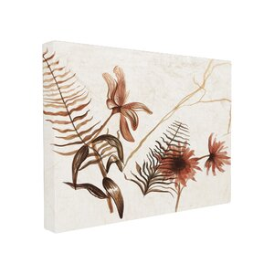 Botanicals in Ink Canvas Wall Art by Stupell Industries