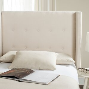 Yale Upholstered Wingback Headboard by Darby Home Co