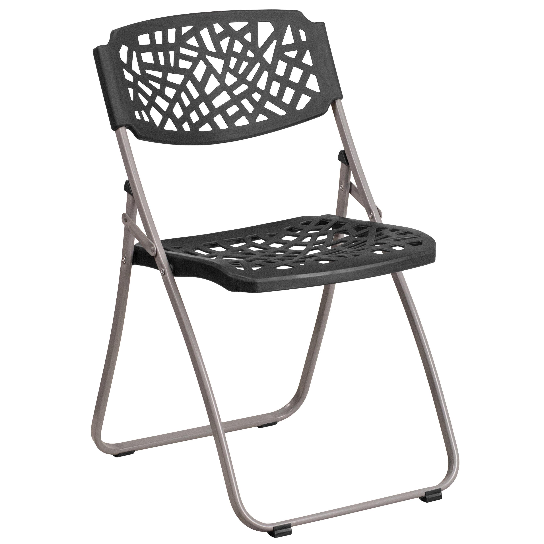 Flash Furniture Hercules Fascination Metal Folding Chair & Reviews