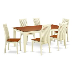 Pilger 7 Piece Dining Set By August Grove