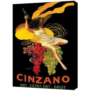 ''Asti Cinzano'' by Leonetto Cappiello Vintage Advertisement on Canvas by ArtWall