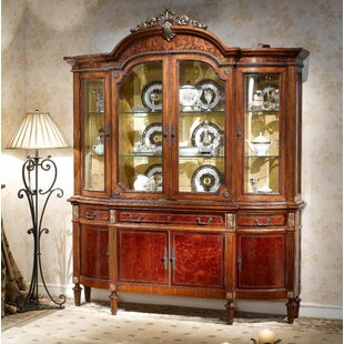 Provost Four Door Display Unit China Cabinet by Astoria Grand