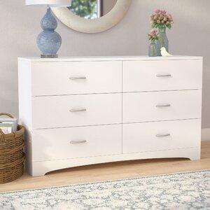 Poulson 6 Drawer Double Dresser
