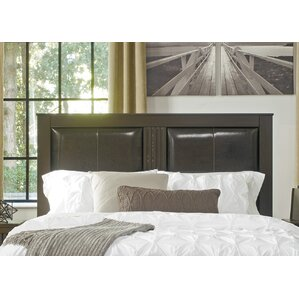 Decker Queen Upholstered Panel Headboard by Mercury Row