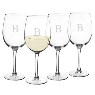 Jacklyn 19 oz. Crystal All Purpose Wine Glass (Set of 4) by Darby Home Co