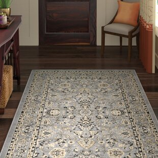 Best Price Essehoul Gray Area Rug By World Menagerie