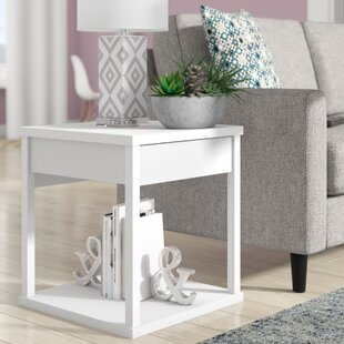 Best Maxon End Table With Storage By Wrought Studio