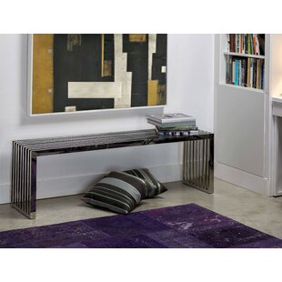 Axel Stainless Steel Bench By Mobital