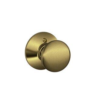 poign/ée de porte de style fondamental pour portes int/érieures. Poign/ée de porte en laiton Antikas