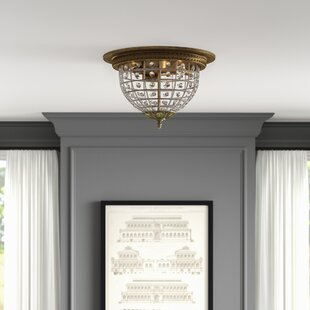 Nazareth 3-Light Flush Mount By Greyleigh